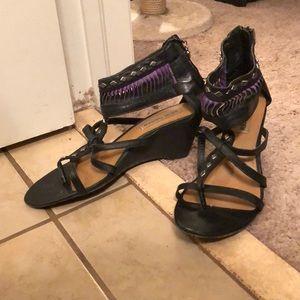 Steven Madden southwestern style sandals